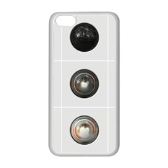 9 Power Buttons Apple iPhone 5C Seamless Case (White)