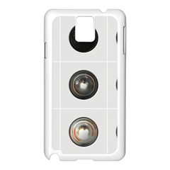 9 Power Buttons Samsung Galaxy Note 3 N9005 Case (white)