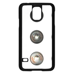 9 Power Buttons Samsung Galaxy S5 Case (Black)