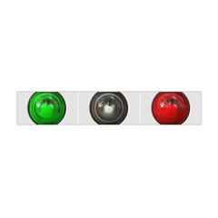 9 Power Buttons Flano Scarf (mini)