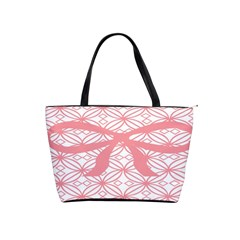 Pink Plaid Circle Shoulder Handbags