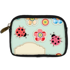 Buttons & Ladybugs Cute Digital Camera Cases