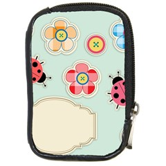 Buttons & Ladybugs Cute Compact Camera Cases