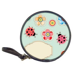 Buttons & Ladybugs Cute Classic 20-CD Wallets