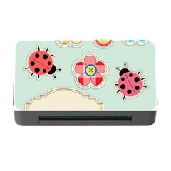 Buttons & Ladybugs Cute Memory Card Reader with CF