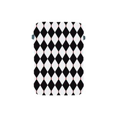 Plaid Triangle Line Wave Chevron Black White Red Beauty Argyle Apple iPad Mini Protective Soft Cases