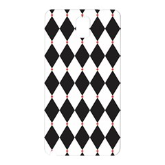 Plaid Triangle Line Wave Chevron Black White Red Beauty Argyle Samsung Galaxy Note 3 N9005 Hardshell Back Case