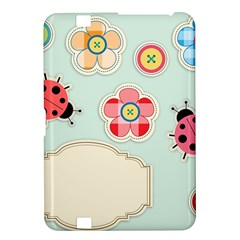 Buttons & Ladybugs Cute Kindle Fire HD 8.9
