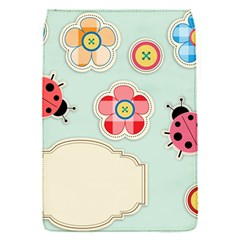 Buttons & Ladybugs Cute Flap Covers (S)