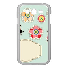 Buttons & Ladybugs Cute Samsung Galaxy Grand DUOS I9082 Case (White)