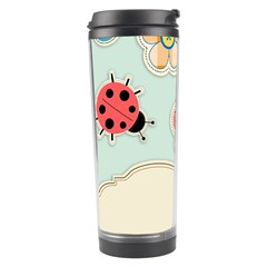 Buttons & Ladybugs Cute Travel Tumbler