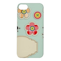 Buttons & Ladybugs Cute Apple iPhone 5S/ SE Hardshell Case