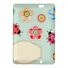 Buttons & Ladybugs Cute Kindle Fire HDX 8.9  Hardshell Case