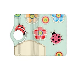 Buttons & Ladybugs Cute Kindle Fire HD (2013) Flip 360 Case