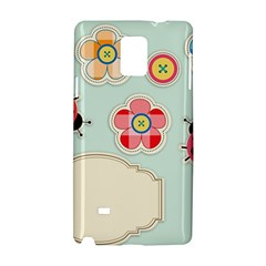 Buttons & Ladybugs Cute Samsung Galaxy Note 4 Hardshell Case