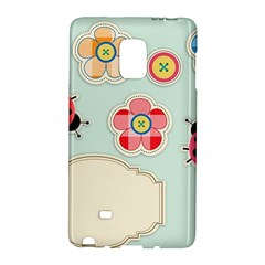 Buttons & Ladybugs Cute Galaxy Note Edge