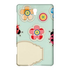 Buttons & Ladybugs Cute Samsung Galaxy Tab S (8.4 ) Hardshell Case