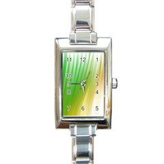 Folded Paint Texture Background Rectangle Italian Charm Watch