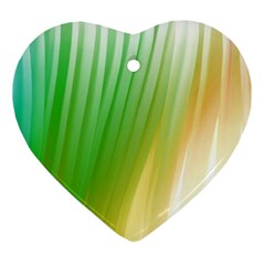 Folded Paint Texture Background Ornament (heart)