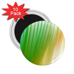 Folded Paint Texture Background 2 25  Magnets (10 Pack)