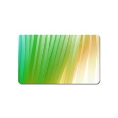 Folded Paint Texture Background Magnet (name Card)