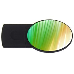 Folded Paint Texture Background USB Flash Drive Oval (1 GB)