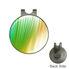 Folded Paint Texture Background Hat Clips with Golf Markers