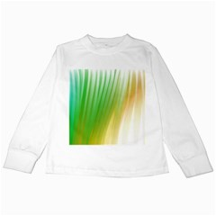 Folded Paint Texture Background Kids Long Sleeve T-Shirts