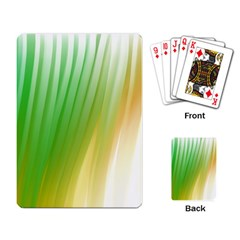 Folded Paint Texture Background Playing Card