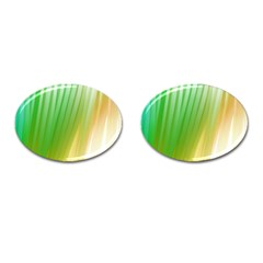 Folded Paint Texture Background Cufflinks (oval)
