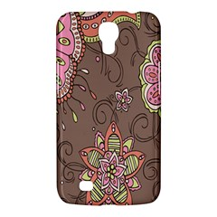 Ice Cream Flower Floral Rose Sunflower Leaf Star Brown Samsung Galaxy Mega 6.3  I9200 Hardshell Case
