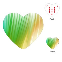 Folded Paint Texture Background Playing Cards (heart)