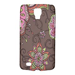 Ice Cream Flower Floral Rose Sunflower Leaf Star Brown Galaxy S4 Active