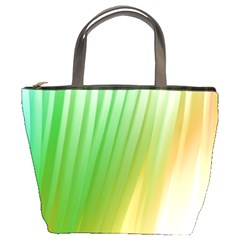 Folded Paint Texture Background Bucket Bags