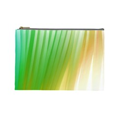 Folded Paint Texture Background Cosmetic Bag (Large)