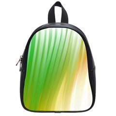 Folded Paint Texture Background School Bags (Small)
