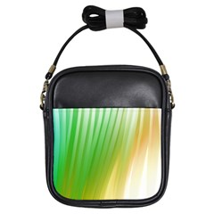 Folded Paint Texture Background Girls Sling Bags