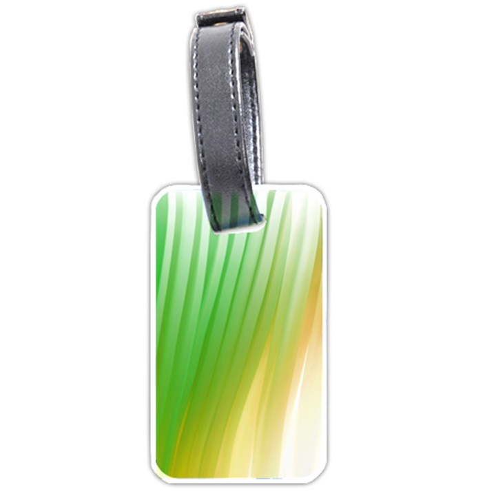 Folded Paint Texture Background Luggage Tags (One Side)