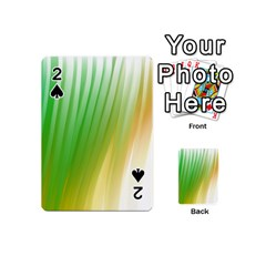 Folded Paint Texture Background Playing Cards 54 (Mini)