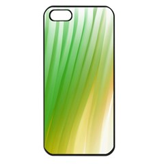 Folded Paint Texture Background Apple iPhone 5 Seamless Case (Black)