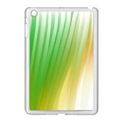 Folded Paint Texture Background Apple iPad Mini Case (White)