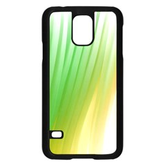 Folded Paint Texture Background Samsung Galaxy S5 Case (Black)