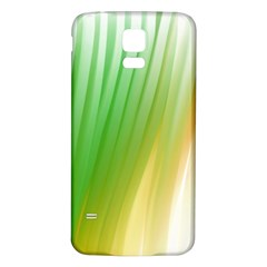 Folded Paint Texture Background Samsung Galaxy S5 Back Case (White)