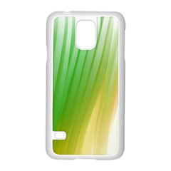 Folded Paint Texture Background Samsung Galaxy S5 Case (white)