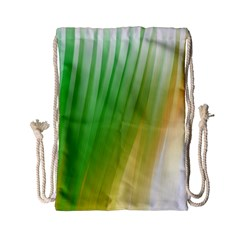 Folded Paint Texture Background Drawstring Bag (Small)