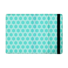 Plaid Circle Blue Wave iPad Mini 2 Flip Cases