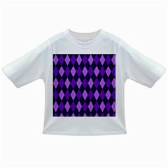 Plaid Triangle Line Wave Chevron Blue Purple Pink Beauty Argyle Infant/toddler T Shirts