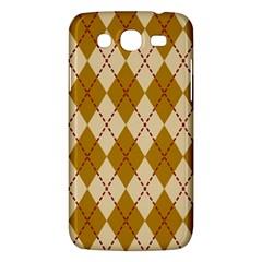 Plaid Triangle Line Wave Chevron Orange Red Grey Beauty Argyle Samsung Galaxy Mega 5.8 I9152 Hardshell Case