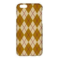 Plaid Triangle Line Wave Chevron Orange Red Grey Beauty Argyle Apple iPhone 6 Plus/6S Plus Hardshell Case