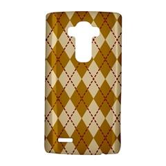 Plaid Triangle Line Wave Chevron Orange Red Grey Beauty Argyle LG G4 Hardshell Case